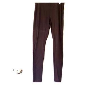HUE Brown Leggings